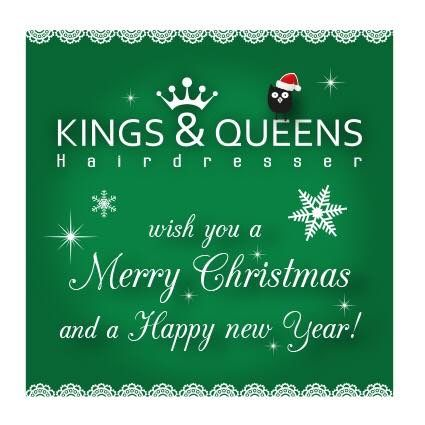 Merry Christmas 2018 Kings & Queens Hairdresser